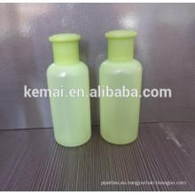 Crema para el cuerpo Botella de plástico con cabeza rociadora