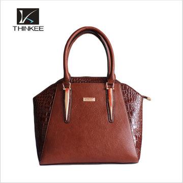 Personalize a sacola vegetal das mulheres do couro da grão completa italiana feito a mão, senhora Designer Handbags