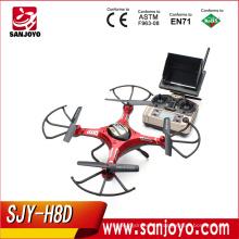 JJRC H8D FPV modo sin cabeza RC Quadcopter con 2MP cámara RTF Original JJRC H8D 5.8G RTF drone loro 2.0 edición elite SJY- H8D