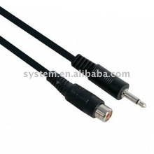 3.5 mono plug male to 1xRCA jack female cable