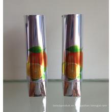 Tubos plegables de aluminio de clase superior para los cosméticos, tubos de aluminio plegable