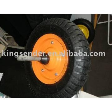 roue en caoutchouc