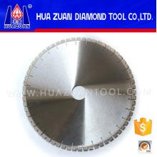 Hoja de sierra del segmento del diamante en forma de U de 400m m, hoja de sierra circular del diamante del corte del borde de la piedra del granito