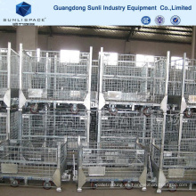 Almacenamiento Pallet Rack Wire Mesh Container