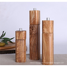 Manual Salt&Pepper Mill, Wood Salt and Pepper Mill, Bamboo Pepper Grinder