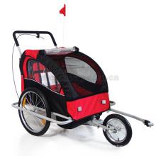 reboque do animal de estimação da bicicleta do reboque do bebê da bicicleta Carrinho de mão do carrinho de mão do triciclo do bebê
