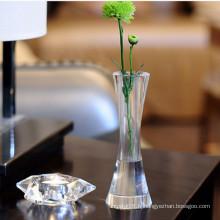 Vase en verre cristal d'origine pour la décoration de Noël