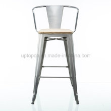 Wholesales Multi Color High Metal Bar Chair com braço (SP-MC076)
