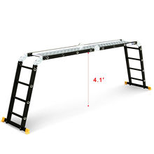 Aluminum Multi-Purpose Step Ladders