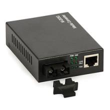 Convertisseur de média Ethernet pour deux fibres mono-mode jusqu'à 2 km
