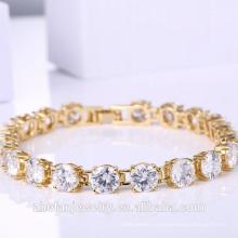 Cadeau de noël pour les femmes 24k or haut bracelet polonais accessoires de mariage