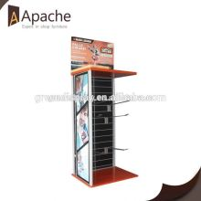 Competitive price cuboid acrylic eyeliner display stand