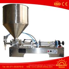 Máquina de llenado de aceite vegetal Máquina de llenado de líquido Máquina de llenado de aceite líquido