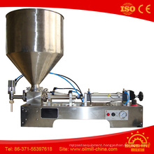 Single Head Paste Filling Machine Peanut Olive Oil Filling Machine
