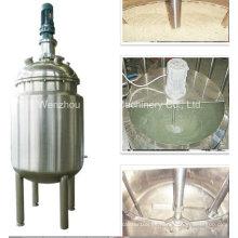 Pl Emulsión de acero inoxidable Mezclador Tanque de mezcla de aceite Máquina de mezcla de fertilizantes