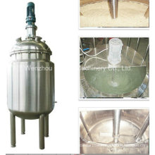 Pl Stainless Steel Jacket Emulsification Mixing Tank Oil Blending Machine Fertilizer Mixing Machine