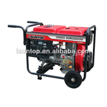 5.5kw Portable Diesel Generator with 474cc(LA188) engine by Launtop