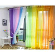 Voile Curtain with Good Quality Cheap Price
