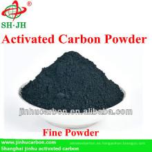 Polvo de carbón de alto grado para la decoloración del jarabe