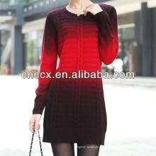 PK17ST216 Pullover ombre Pullover Frauen Kleider
