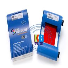 Zebra P100i, P110i, P120i Vermelho 1000 Imagem 800015-902 Fita de Impressora de Cartões ID