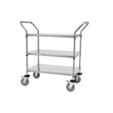 Carrinho de utilidade de aço inoxidável NSF / carrinho de metal / carrinho de metal (TR9045100A3)
