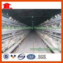 Cage de poulet de poulailler de couche d'équipement de volaille fabriqué en Chine