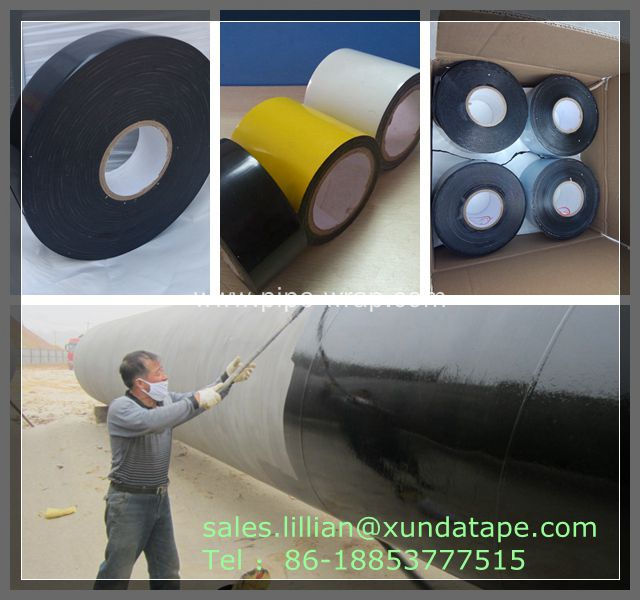 Pipeline protective warpping tape
