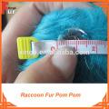 Wholesale Raccoon Fur Pom Pom