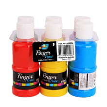 6*120ml Finger Paint