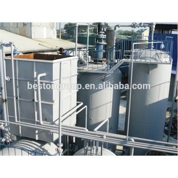 Profitable Waste Motor Oil Recycling to diesel machine