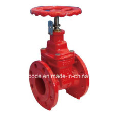 Non Rising Stem Resilient Seated Flange Gate Valve with Position Indicator