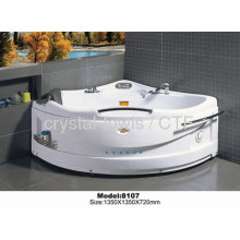 Triangle Whirlpool Massage Bathtub