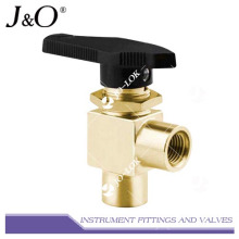 Válvula de bola de retorno de resorte de latón de alta presión