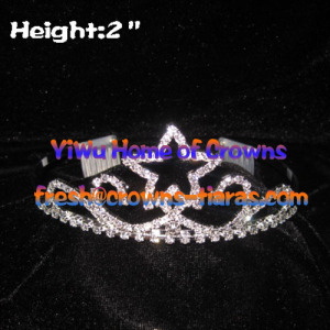 Hot Selling 2inch Star Tiaras