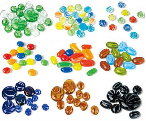 Unique glass beads