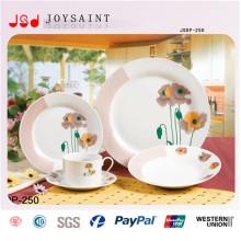18ШТ круглой формы Набор посуды