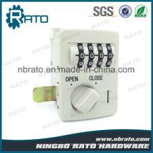Cerradura de combinación de panel para puerta segura