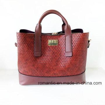 Brand Designer Fashion Women Embossed PU Briefcase (NMDK-052205)