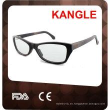 Marco óptico de madera, gafas de sol de bambú, gafas de madera