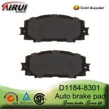D1184-8301 Front Brake Pad for Yaris