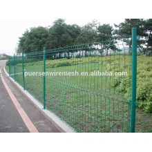 PVC Coated Metal Wire Double Sides Fence