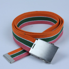 Customized for Custom Waist Belt Colorful UK mens Woven Cotton Belt supply to Serbia Wholesale