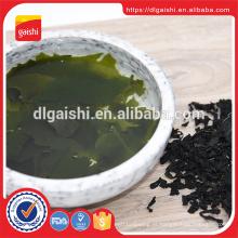 Grau ABC wakame SML secas goma wakame Tamanho secas algas secas folhas de algas wakame
