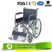 Economy European Style Wheelchair with Big Wheels