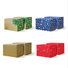 factory customized for Fibreboard Box corrugated  packaging  box  for fruits export to Burkina Faso Manufacturers