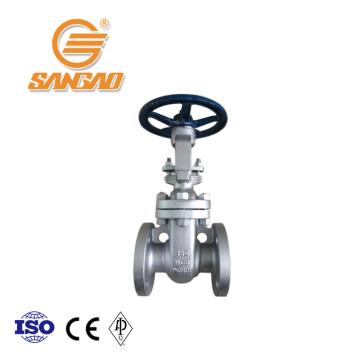 wholesale cast steel gate valve oil gas dn150 flanged gate valve api600