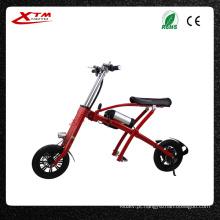 China Mini dobrável E moto pneu gordo bicicleta elétrica