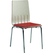 Cushioned Bentwood Cafe Restaurant Chairs (FOH-RC8)