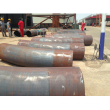 Medium Frequency Induction Heating Steel X52 Pipe Bend